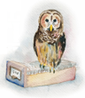 Treasure Hunt Logo (an owl)